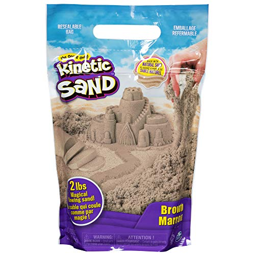 Kinetic Sand 6053516 - 907 g Beutel braun