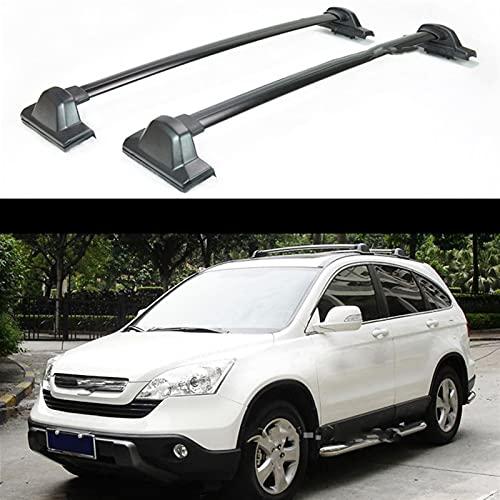 XIAOZHIWEN Barras de Portador de Equipaje de automóviles Top Cross Bar Rack Rail Cajas de Techo para Honda CRV CR-V 2007-2011 HNXZW