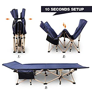 Redcamp Folding Camping Bed for adults, 28
