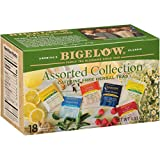 Bigelow Collection Herbal Tea Bags, 18 Count Box (Pack of 6) Caffeine Free, 108 Tea Bags Total (Packaging and...