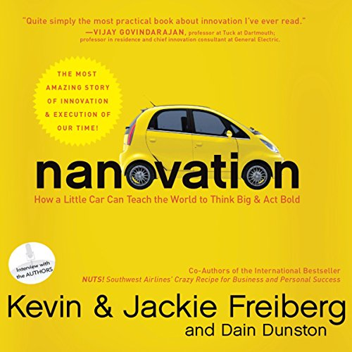 Nanovation audiobook cover art