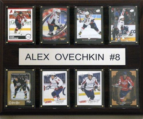 C & I Collectables NHL Alex Ovechkin Washington Hauptstädte, 8 Karten