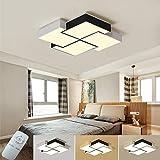 Lámpara de techo creativa Negro LED Lámpara de pared...