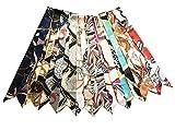 Fashion Bag Handbag Handle Ribbon Scarf Package Band Hair Head (Pattem A)