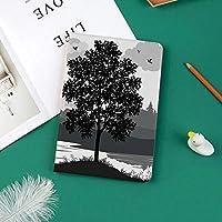印刷者IPad Pro 11 ケースiPad Pro 11 カバー 軽量 薄型 PUレザー 三つ折スタンド オートスリープ機能 2018年秋発売のiPad Pro 11インチ専用木と自然のテーマ風景鳥曇り空と川
