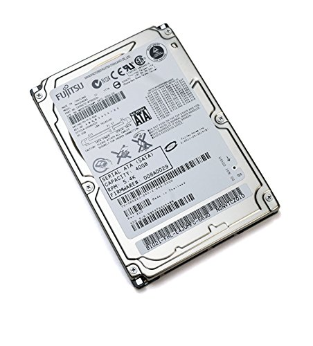 MHV2040BS Fujitsu 2.5-Inch HDD Extended Duty Mobile Storage 40GB 5.4k High Performance SATA Micro Hard Drive CA06672-B75000DL 5400rpm 5V 1.0A 1.9W 9.5mm Blade Server Network Router POS Application M60