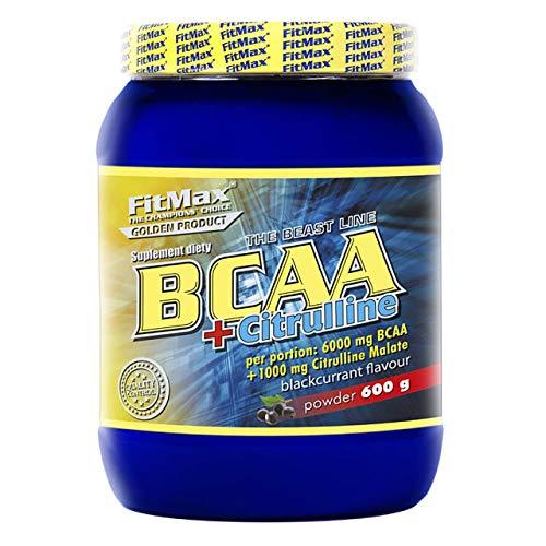 FITMAX BCAA Pro 8000 - Ovillo de lana (550 g), color negro