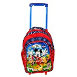D Paradise 3D Mickey Mouse Print 16 Inch Children's Rolling Luggage School Trolley