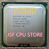 Intel Xeon L5420 Server CPU/2.5GHz /LGA771/L2 Cache 12MB/Quad-Core/(Give Two 771 to 775 Adapters)