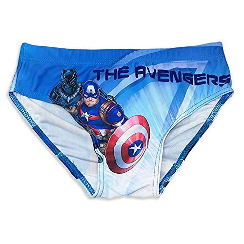 Bañador de los Vengadores de Marvel, original de Marvel, para niños de 4 años a 10...
