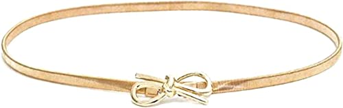 Romp Fashion Golden Stretchable Waist Chain Belt for Girls and Women…