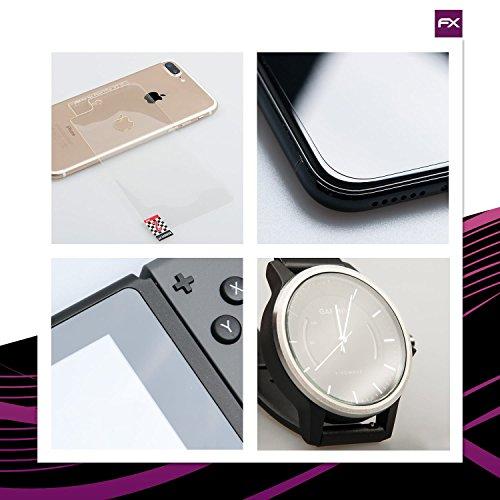 atFolix Glasfolie kompatibel mit Teclast P20HD Panzerfolie, 9H Hybrid-Glass FX Schutzpanzer Folie