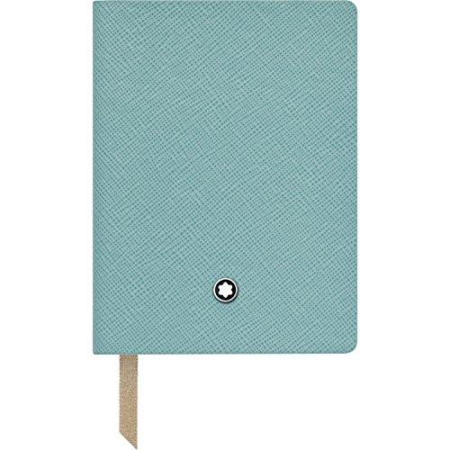 Montblanc Notebook 114972 Fine Stationery #145 – Leder Notizbuch A7 liniert mit Softcover – Farbe: Mint – 128 Seiten