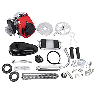 MOTOOS 49CC 4-Stroke Gas Petrol Motorized Bike Bicycle Engine Motor Kit