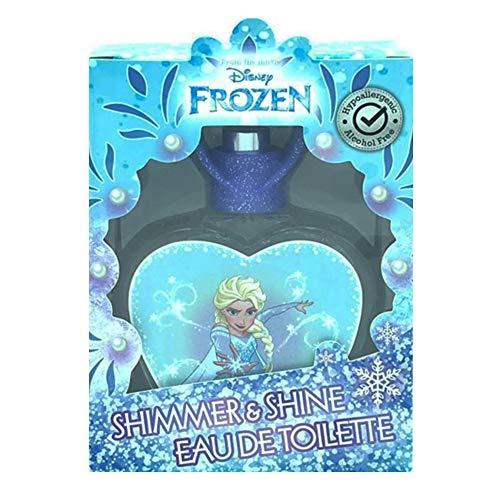 Frozen Elsa Disney Parfum EDT ml. 50 eau de toilette avec autocollants idée cadeau