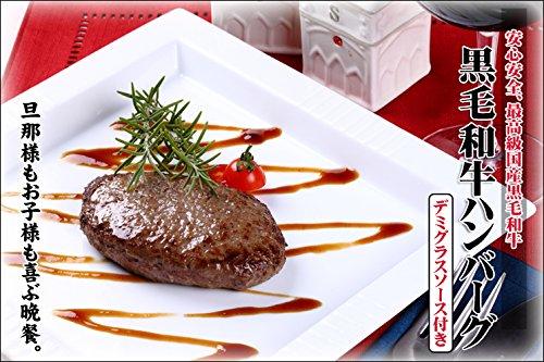 熊本産黒毛和牛 藤彩牛 肉汁たっぷりハンバーグ 200g×4個 フジチク 弁当 おかず