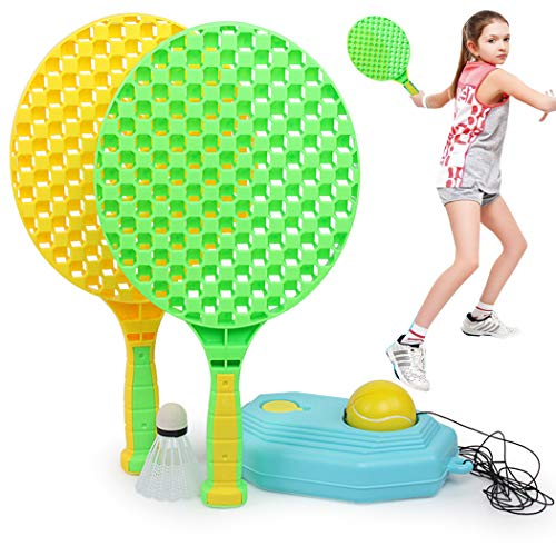 Fanspack Raqueta Tenis Set Juguete Plástico Creativo