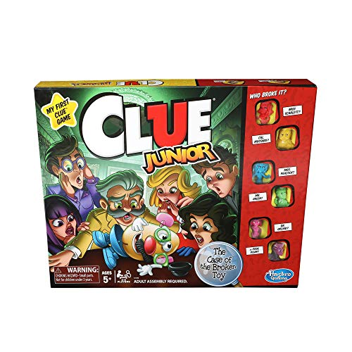 Product Image of the Hasbro Gaming Clue Junior Game