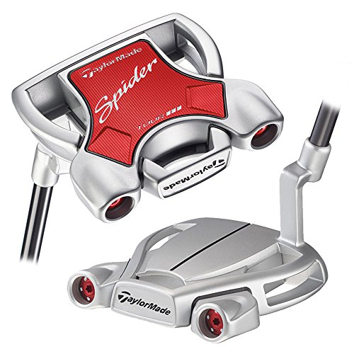 TaylorMade 2018 Spider Tour Diamond Silver Putter (Left Hand, with Sightline, 35 Inches) -  Taylormade-Adidas Golf Company, N1543427