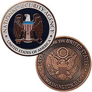 Momoso_store CID US Army Criminal Investigation Command Gold-Colored Plated Challenge Coin, Replica Toys