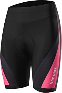 Womens Bike Shorts for Cycling with 3D Padded Women Cycling Shorts