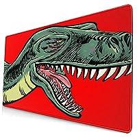 マウスパッド40 * 75cm 恐竜 オフィス、ゲーム、学習、デスクトップ、ラップトップ、パソコン、コンソールに適しています、ゲーミングマウスパッド