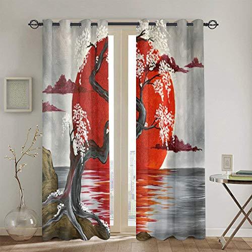 cortinas dormitorio estilo japones