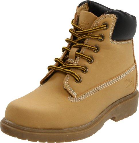 Deer Stags unisex child Kids Boy's Mak2 (Toddler/Little Kid/Big Kid) boots, Wheat, 12 Little Kid US
