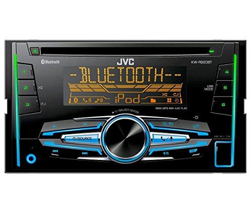 JVC KW-R920BT Doppel-DIN USB/CD-Receiver (Vorder-AUX-Eingang, Bluetooth) schwarz