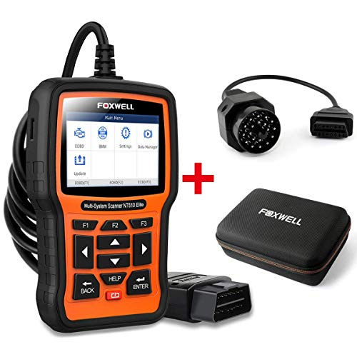 Buy Bargain FOXWELL Car Full-System Diagnostic Tool NT510 Elite for BMW with EVA Case and 20Pin Adap...
