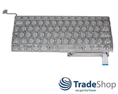 Trade-Shop Premium Laptop-Tastatur / Notebook Keyboard Ersatz Austausch Deutsch QWERTZ für Apple Macbook Pro 15