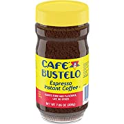Café Bustelo Coffee Espresso Style Instant Coffee, 7.05 Ounces