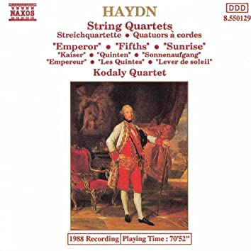 Haydn: String Quartets Nos. 61-63