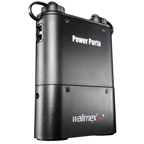 Walimex Pro Powerblock Power Porta - Batería de Ion de Litio para Flash (4500 mAh) Compatible con Metz
