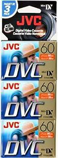 JVC Mdv60du3 Jvc 60 Min Minidv Tape 3 Pack (Discontinued by Manufacturer)