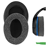Geekria Comfort Linen Replacement Ear Pads for Turtle...