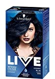 3x Negro cabeza Live Color XXL Colour Intense permanente coloura Tion 90Cosmic Blue
