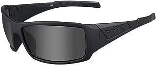 Wiley X Twisted Polarized Sunglasses Black Frame