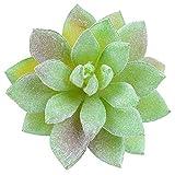 Xuping shop 12 unids/Set Suculenta Artificial Falso Faux Flowers Mini PVC Simulado Plantas Florales Artesanía Decoración de la Oficina
