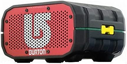 Burton Limited Edition BRAVEN BRV-1 Portable Bluetooth Speaker [12 Hours][Waterproof] 1400 mAh Power Bank - Rasta