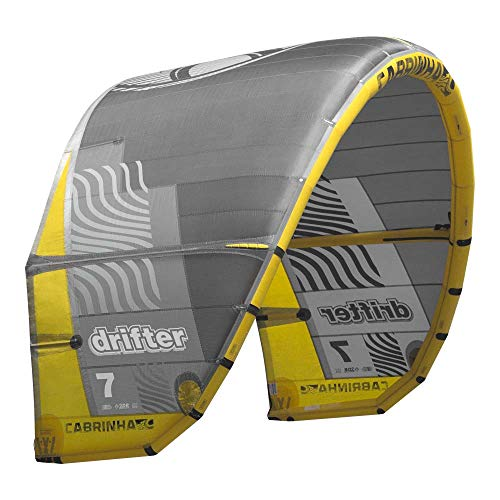 Cabrinha Drifter Kite 2019-Grey/Yellow-9,0
