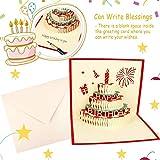 Biglietti di Auguri, Biglietti di Auguri Creativi per Torta di Compleanno in 3D, Regali Speciali per i Tuoi Amici, Parenti, Familiari e Compagni di Classe