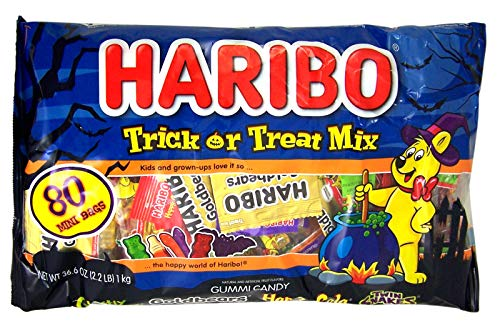 Haribo Halloween Trick or Treat Mix - 36.6oz/80ct