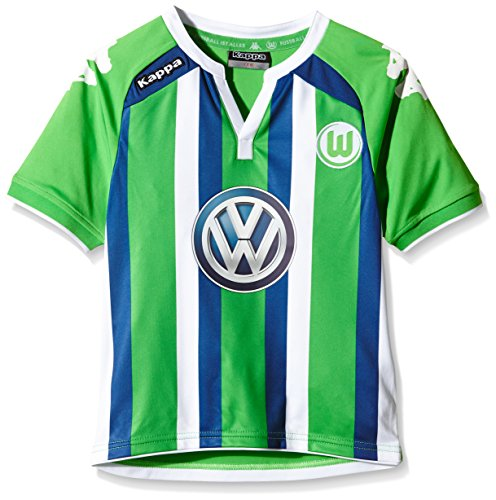 Kappa Kinder Trikot VFL Away, 304 Classic Green, 116