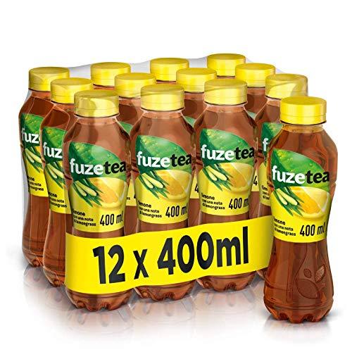 Fuze Tea-Ko Tè al Limone con Nota di Lemongrass 400ml x12 (Pet)