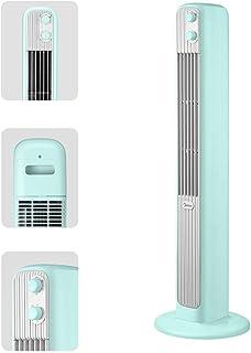 LQH Móviles de Aire Acondicionado portátil Abanico Vertical oscilante eléctrico, Verde Menta, Ideal for Interiores, Dormitorio, hogar y la Oficina
