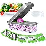 LHS Vegetable Chopper, Pro Onion Chopper Slicer Dicer Cutter - Cheese & Veggie Chopper - Food...