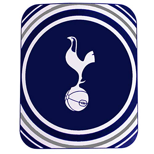 Official Tottenham Hotspur (Spurs) Fleece Blanket Throw for the Home or Car (100% Polyester & 125cm x 150cm)