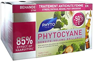 Phyto Phytocyane Densifying Treatment Serum for Women