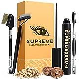 Best Eyelash Serums - Organic SUPREME 7ML Eyelash Growth Serum and Brow Review
